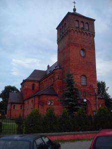 kościół w stylu neoromańskim we Wsoli - gmina Jedlińsk