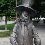 Jedlińsk - Pomnik raka